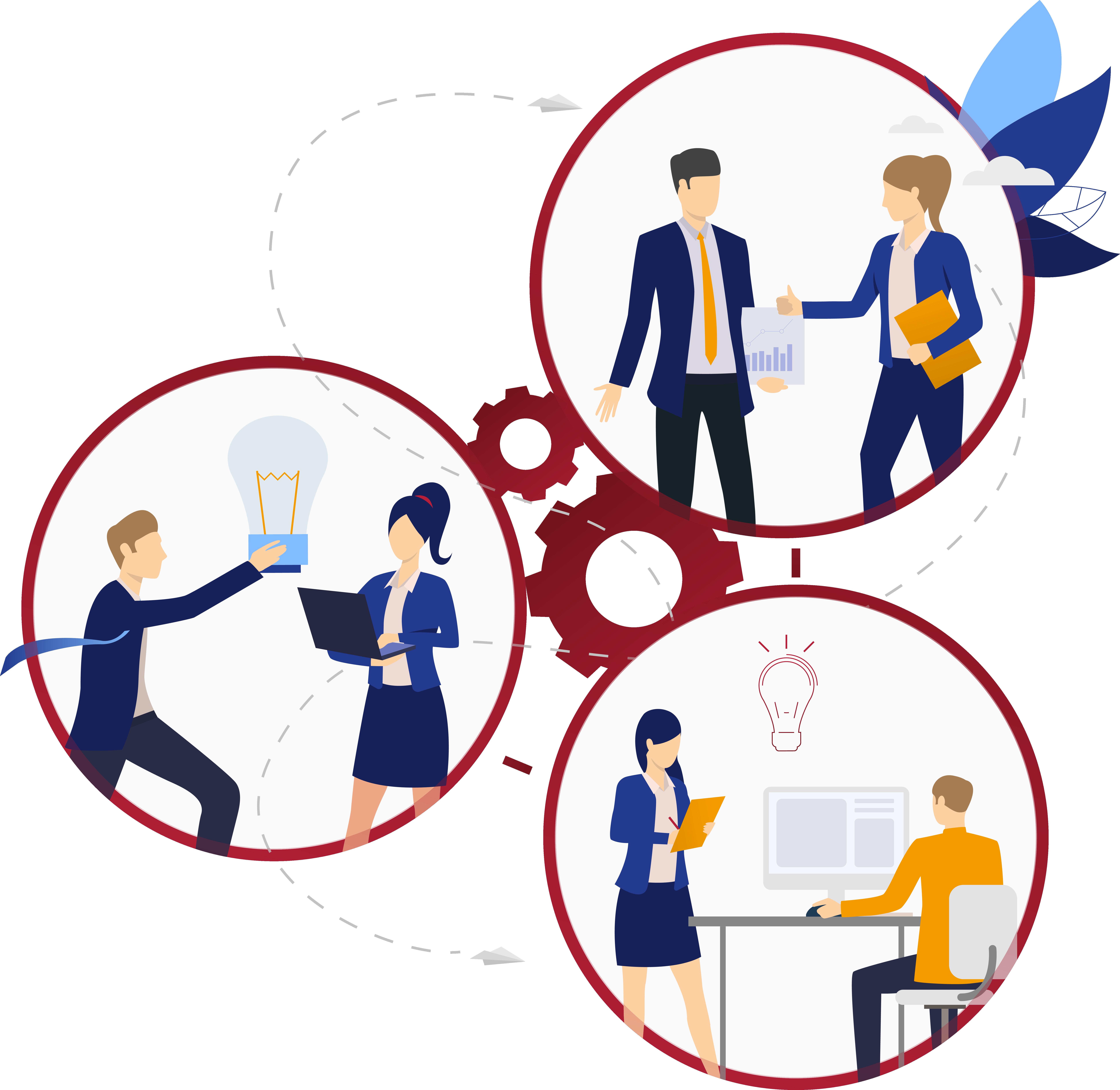 kollaboratives Arbeiten Lösungen Anwendungen